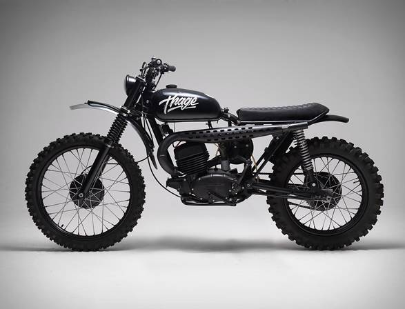 Moto Husqvarna 256 Thage - Imagem - 2