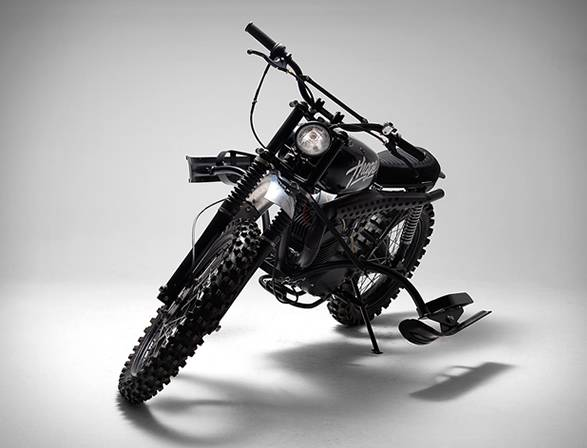 Moto Husqvarna 256 Thage - Imagem - 5