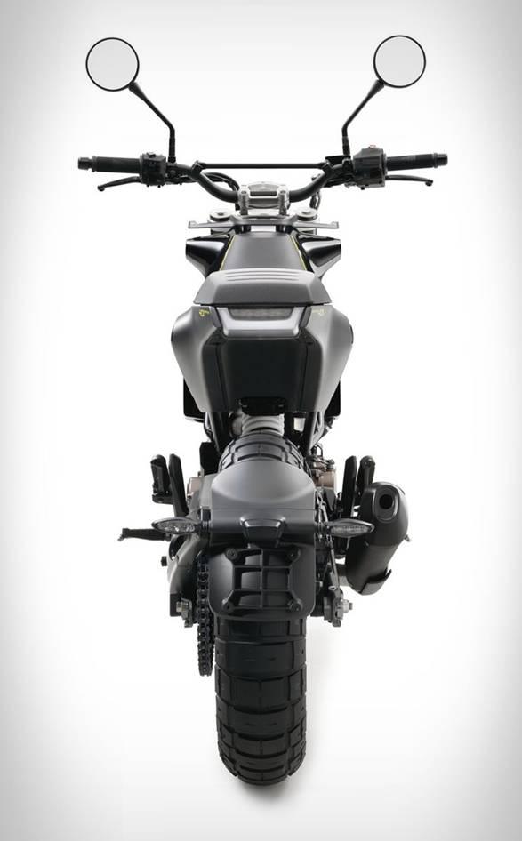 Moto Husqvarna 401 - Imagem - 4