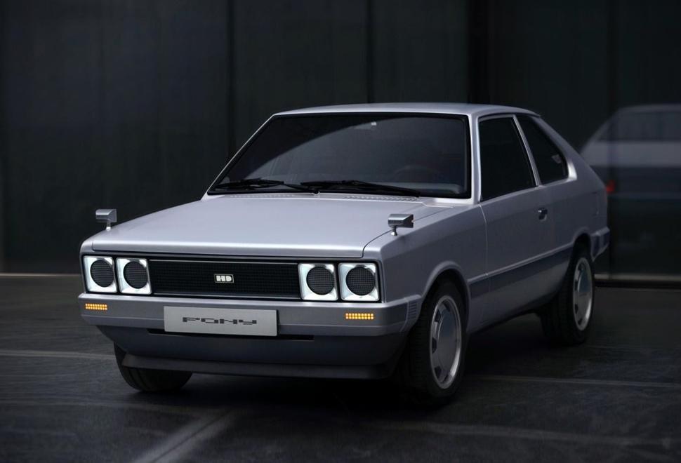 Hyundai Pony Heritage EV - Imagem - 1
