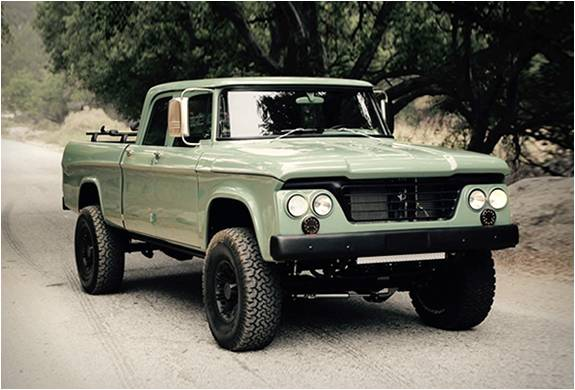 PICK UP PERSONALIZADA - ICON DODGE POWER WAGON - Imagem - 2