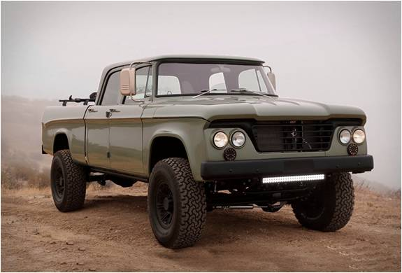 PICK UP PERSONALIZADA - ICON DODGE POWER WAGON - Imagem - 3