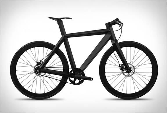 BICICLETA MINIMALISTA URBANA - B-9 NH BLACK EDITION BICYCLE - LAMBORGHINI DAS BICICLETAS