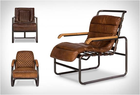 Cadeiras De Couro Vintage Leather Chairs