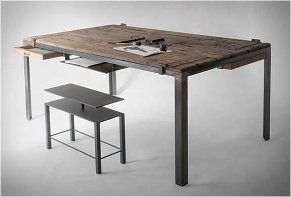 MESA ANTIGA RECICLADA - INDOOR TABLE - Imagem - 3