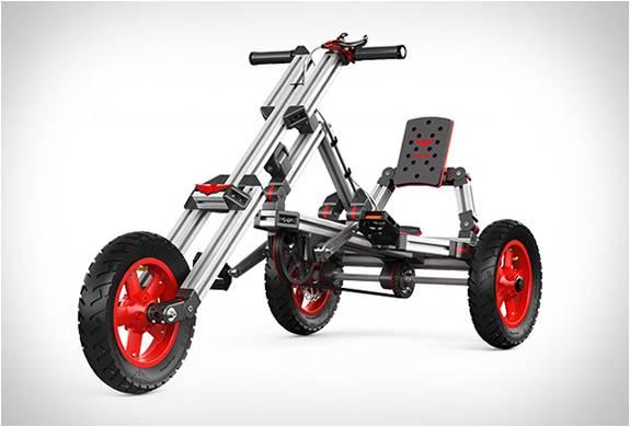 Carrinhos Montáveis - Um Lego de Tamanho Real - Infento - Imagem - 4
