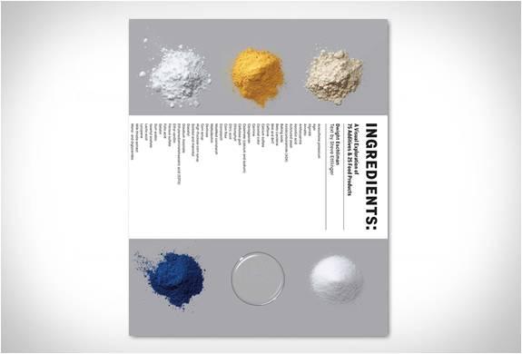 Uma Exploração Visual de 75 Aditivos e 25 Produtos Alimentícios - Imagem - 1