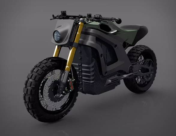Motocicleta Elétrica Italian Volt - Imagem - 4