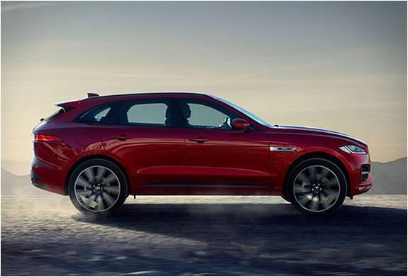 SUV Jaguar F-Pace - Imagem - 5