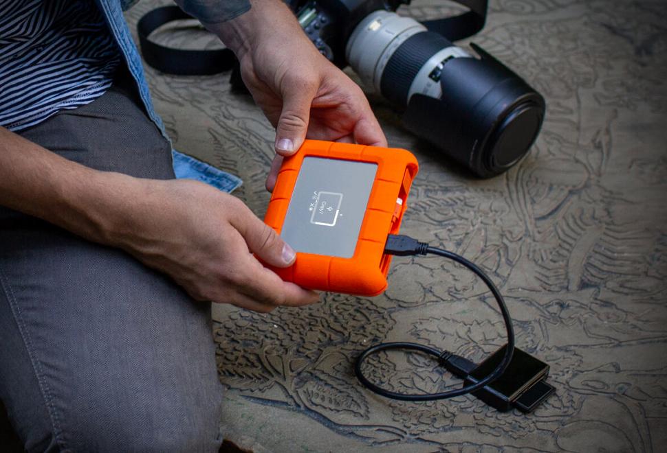 LaCie Rugged BOSS SSD - Imagem - 1