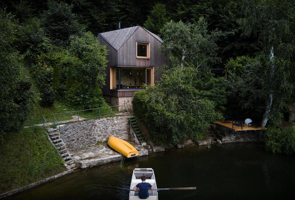Cabana espetacular Radicalmente Projetada- LAKESIDE CABIN - Imagem - 1