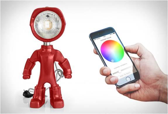 Lampster | Lâmpada Robô - Imagem - 4
