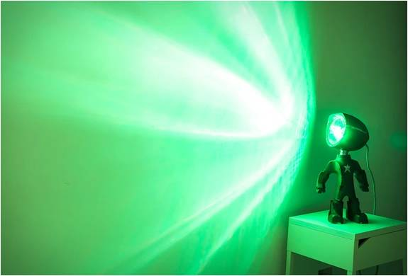 Lampster | Lâmpada Robô - Imagem - 5