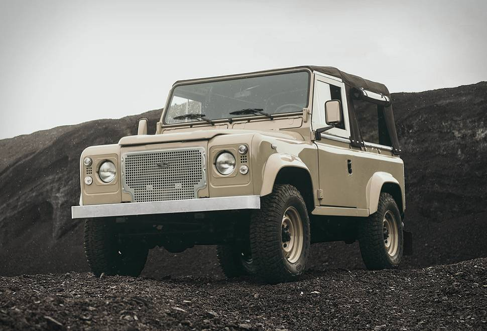 Land Rover Heritage D90