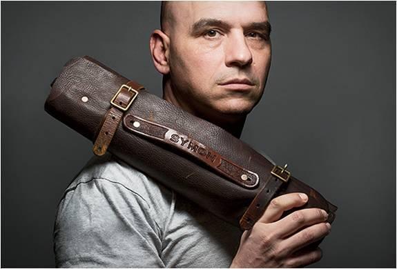 ESTOJO DE FACAS PERSONALIZADO - GOODSON LEATHER KNIFE ROLL - Imagem - 3