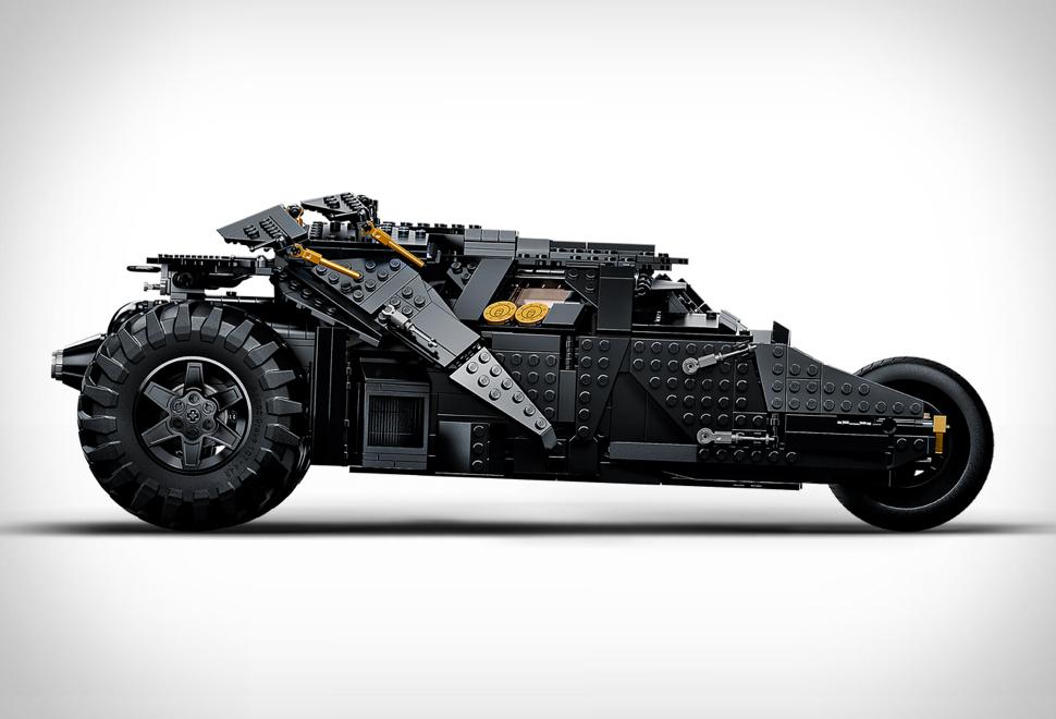 O Veículo Mais Legal do Batman - LEGO BATMOBILE TUMBLER