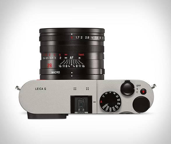 Câmera Fotográfica Leica Q - Titanium Gray - Imagem - 4