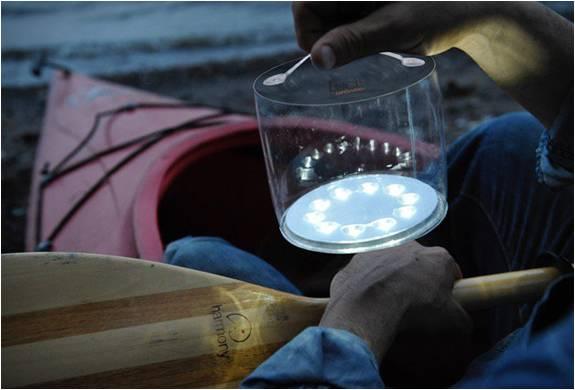 Lanterna Solar Inflável Luci - Imagem - 3