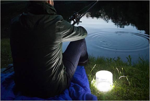 Lanterna Solar Inflável Luci - Imagem - 5