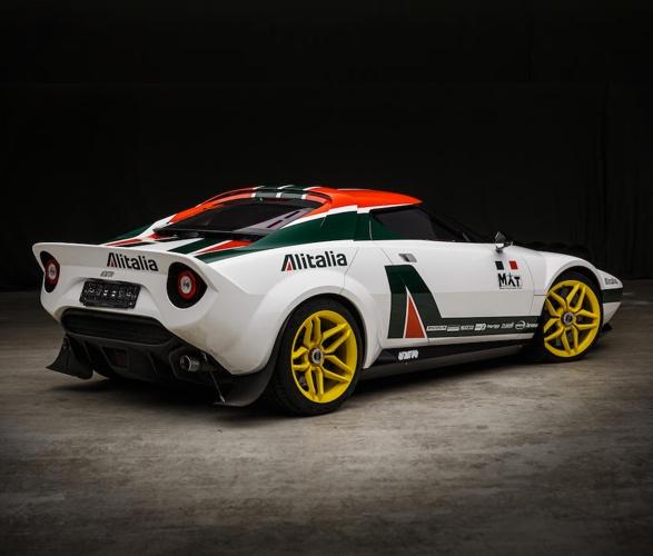 Um dos Carros de Maior Sucesso no Campeonato Mundial de Rally - MAT Stratos Coupe - Imagem - 4