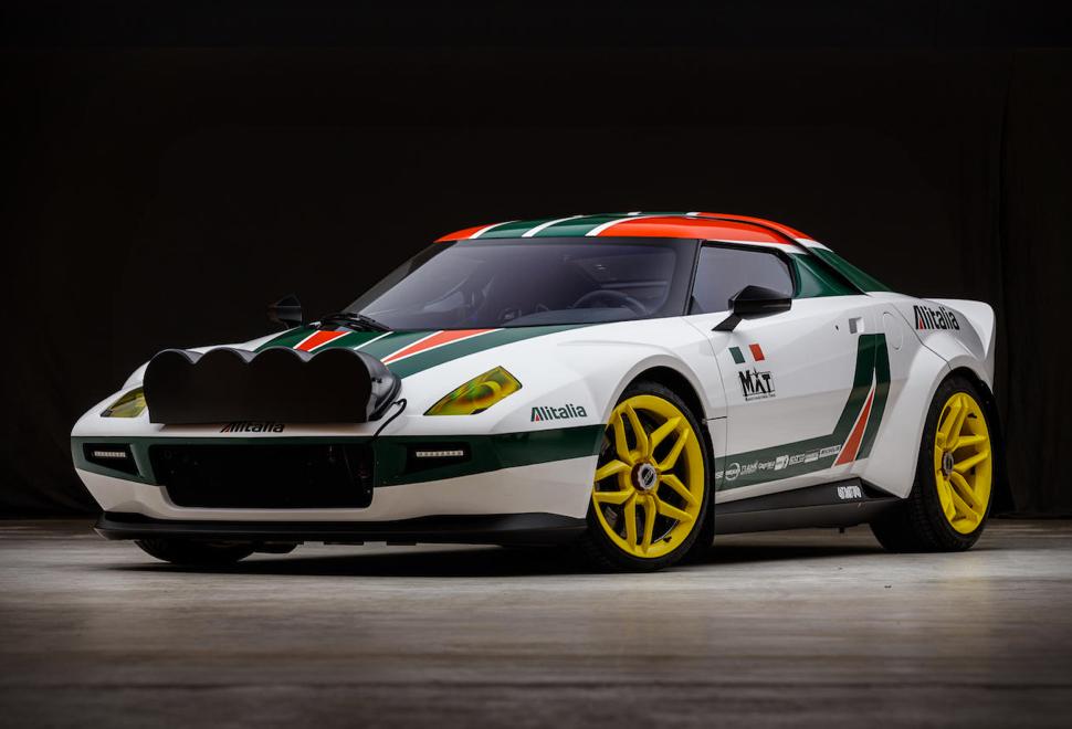 Um dos Carros de Maior Sucesso no Campeonato Mundial de Rally - MAT Stratos Coupe - Imagem - 1