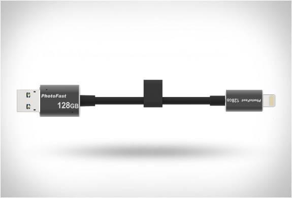 Cabo Memorizador - Combina um HD Externo com um Cabo de Carregar - Imagem - 2