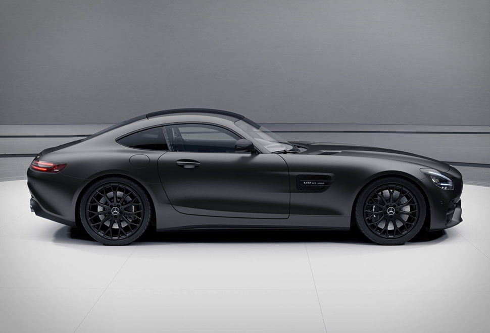 Mercedes AMG GT Stealth Edition