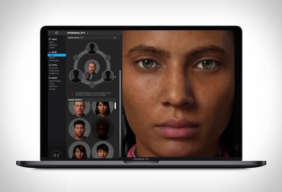 Aplicativo para Criar Humanos Digitais - MetaHuman Creator - Imagem - 1