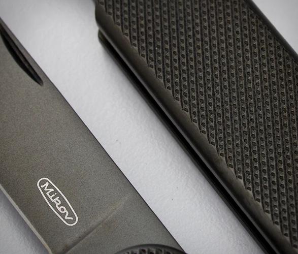 CANIVETE MIKOV CARBON COATED POCKET KNIFE - Imagem - 4