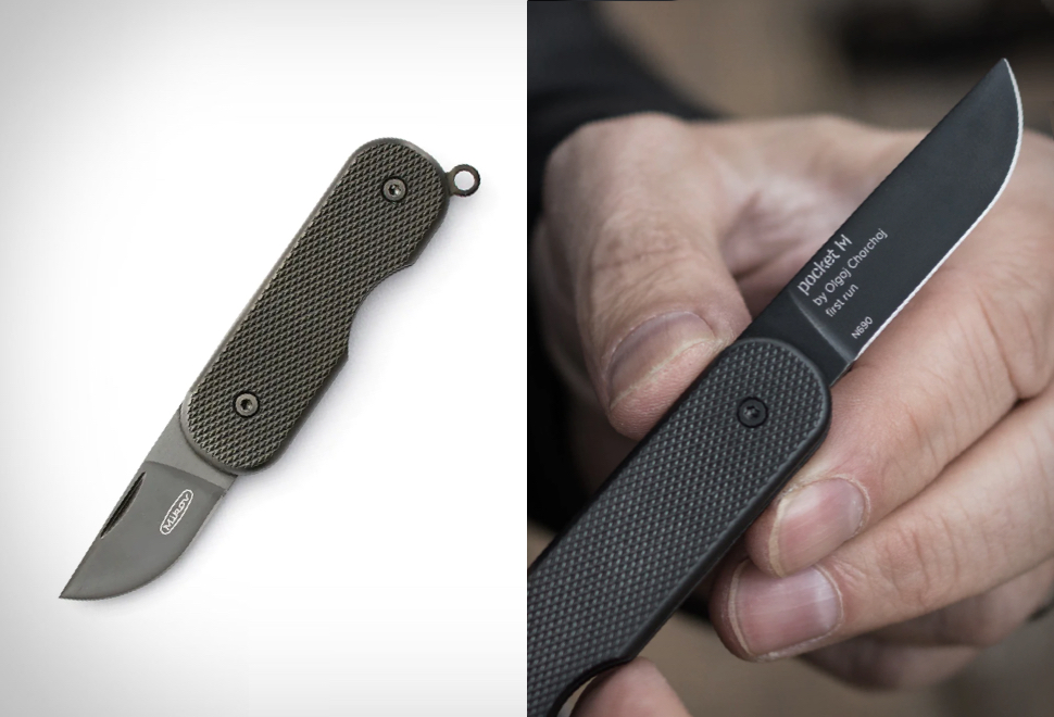 CANIVETE MIKOV CARBON COATED POCKET KNIFE