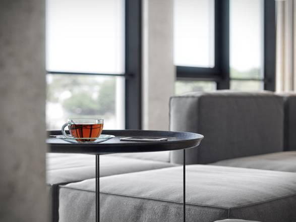 Arquitetura - Apartamento Minimalista Bachelor - Imagem - 3