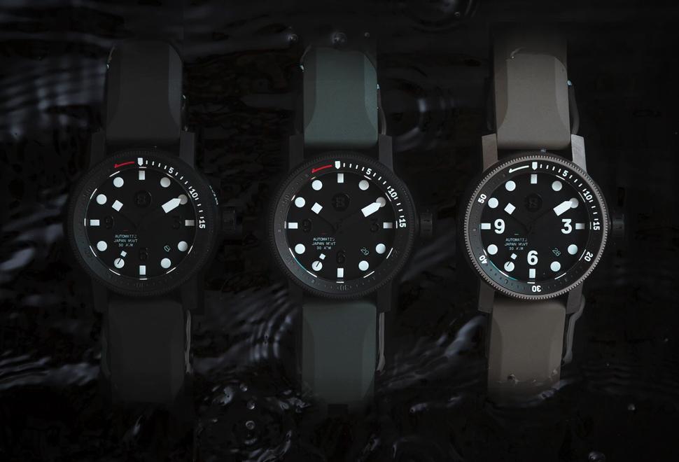 Relógio MINUS-8 DIVER 2020