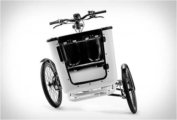 Bicicleta De Carga Mk1 Tilt Action Cargo Trike