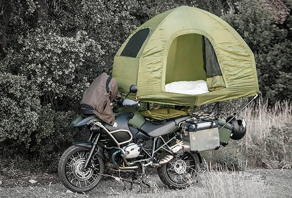 Tenda Montada Mobed Motorcycle - Imagem - 1