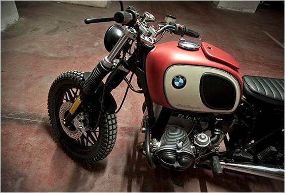 MOTO PERSONALIZADA BMW R45 - Imagem - 3