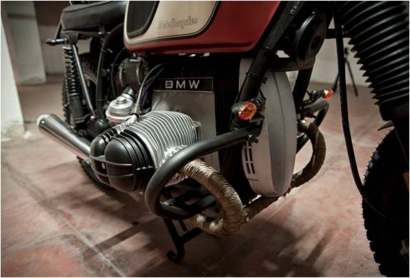 MOTO PERSONALIZADA BMW R45 - Imagem - 4