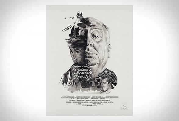 Retratos Ilustrados de Diretores de Filmes - Imagem - 2