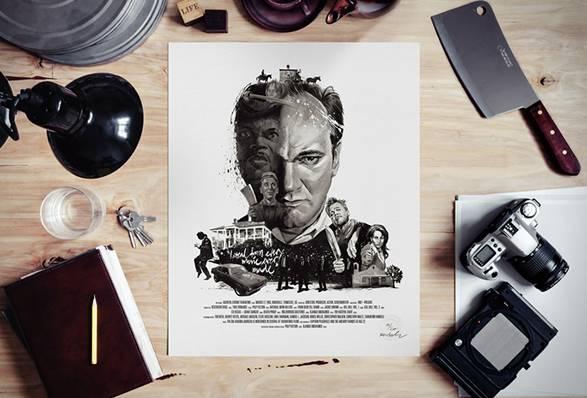 Retratos Ilustrados de Diretores de Filmes - Imagem - 5