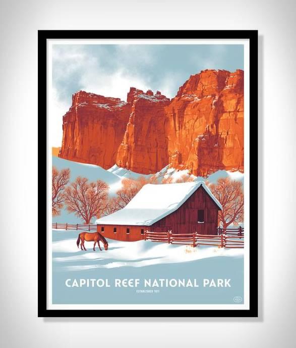 Cartazes - Série Impressão de Parques Nacionais - Imagem - 2