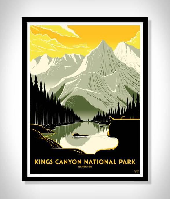 Cartazes - Série Impressão de Parques Nacionais - Imagem - 4