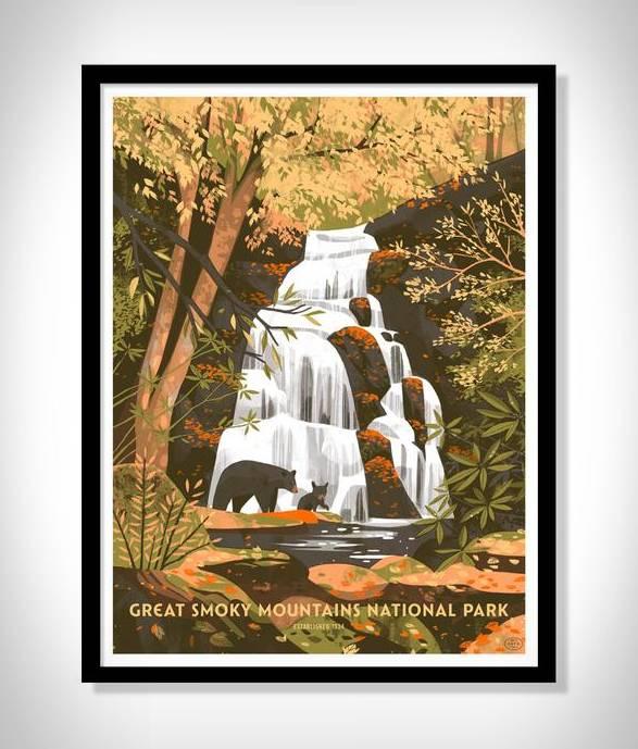 Cartazes - Série Impressão de Parques Nacionais - Imagem - 5