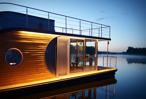 Casa Flutuante Nautilus | Nautilus Houseboats - Imagem - 2