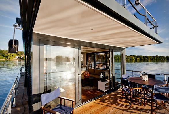 Casa Flutuante Nautilus | Nautilus Houseboats - Imagem - 3