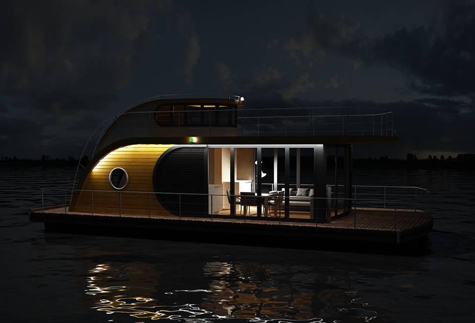 Casa Flutuante Nautilus   Nautilus Houseboats