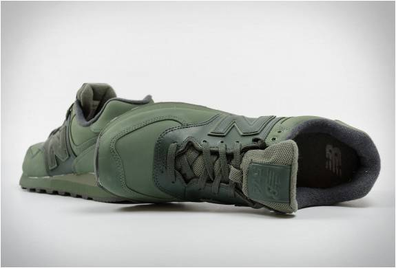 Tênis New Balance 574 | Verde Militar Intenso - Imagem - 4