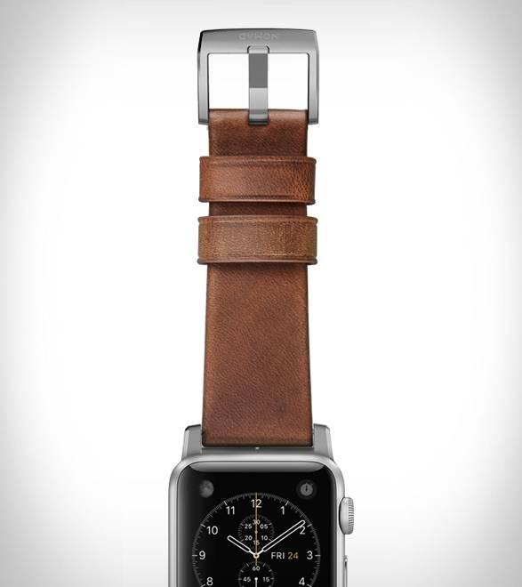 Pulseira em Couro para Apple Watch - Imagem - 2