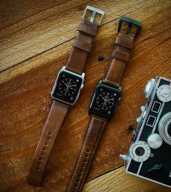Pulseira em Couro para Apple Watch - Imagem - 4