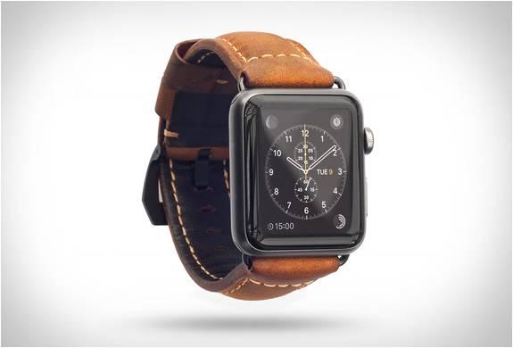Pulseira de Couro para Apple Watch - Por Nomad