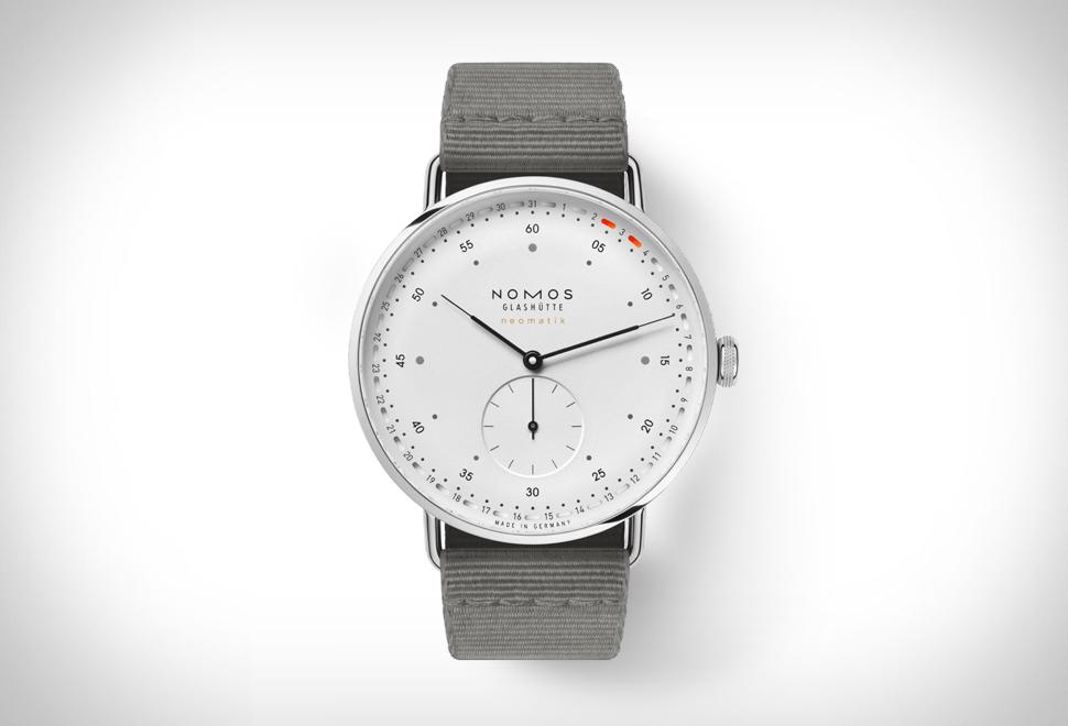 Relógio minimalista, elegante e de alta qualidade - NOMOS METRO NEOMATIK 41 UPDATE - Imagem - 1