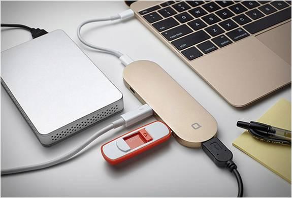 COMO RESOLVER O PROBLEMA DA ÚNICA PORTA USB DO NOVO MACBOOK - HUB+